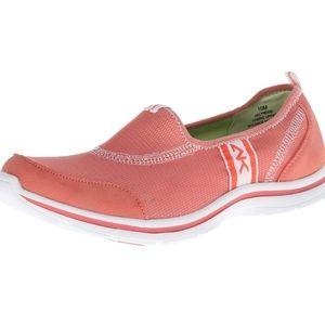 Anne klein sport coral pink orange lyndsie sneaker